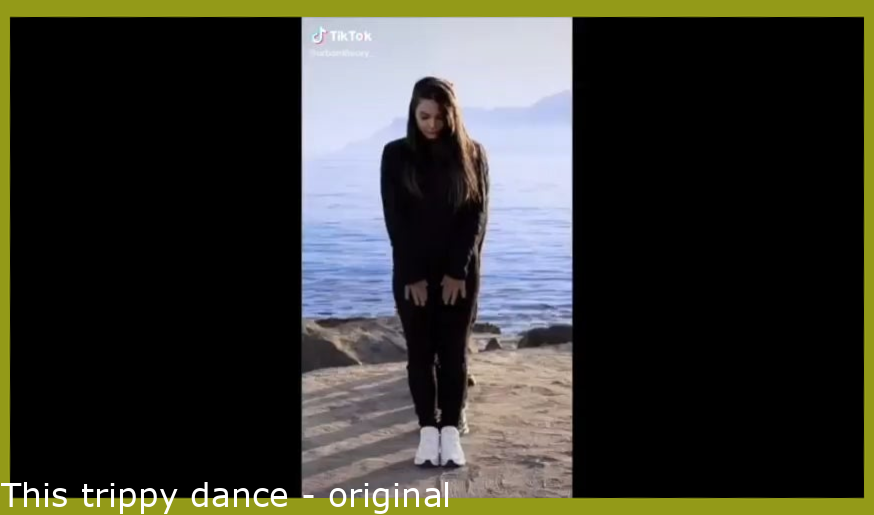 This trippy dance